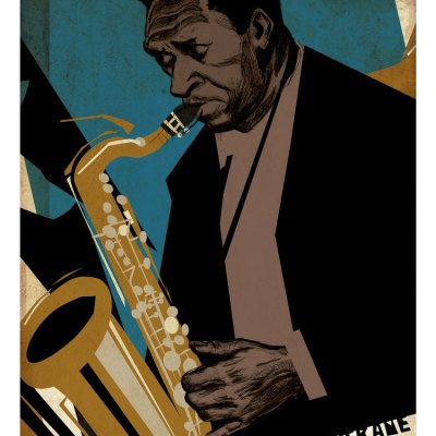 Coltrane Illustration