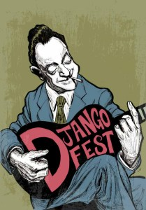 Django Fest Illustration