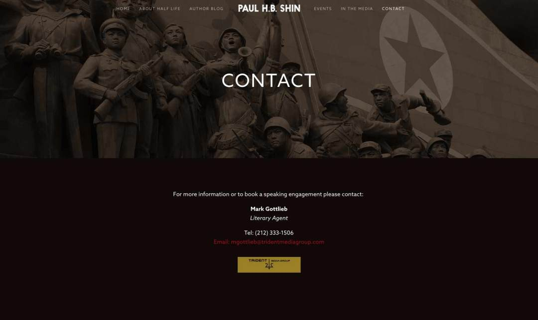 Half Life Contact Page
