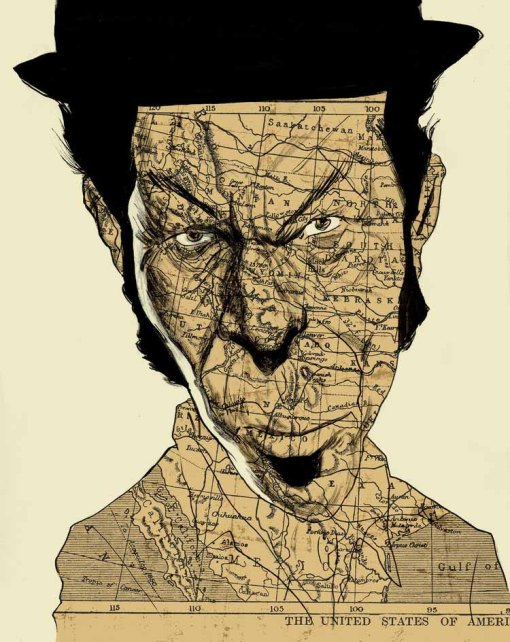 Tom Waits Illustration