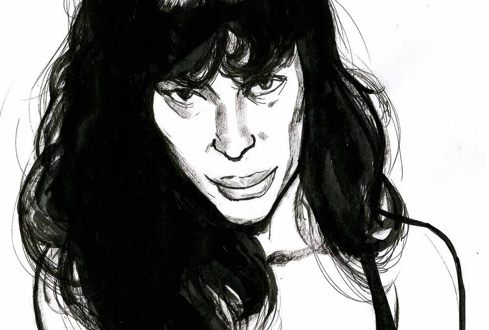 Paz de la Huerta Illustration