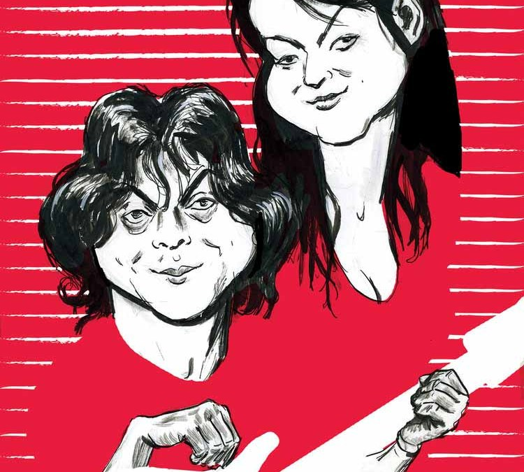 The White Stripes Illustration