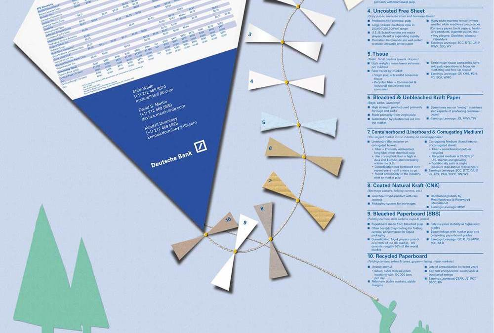 Paper Poster Kite Infographic