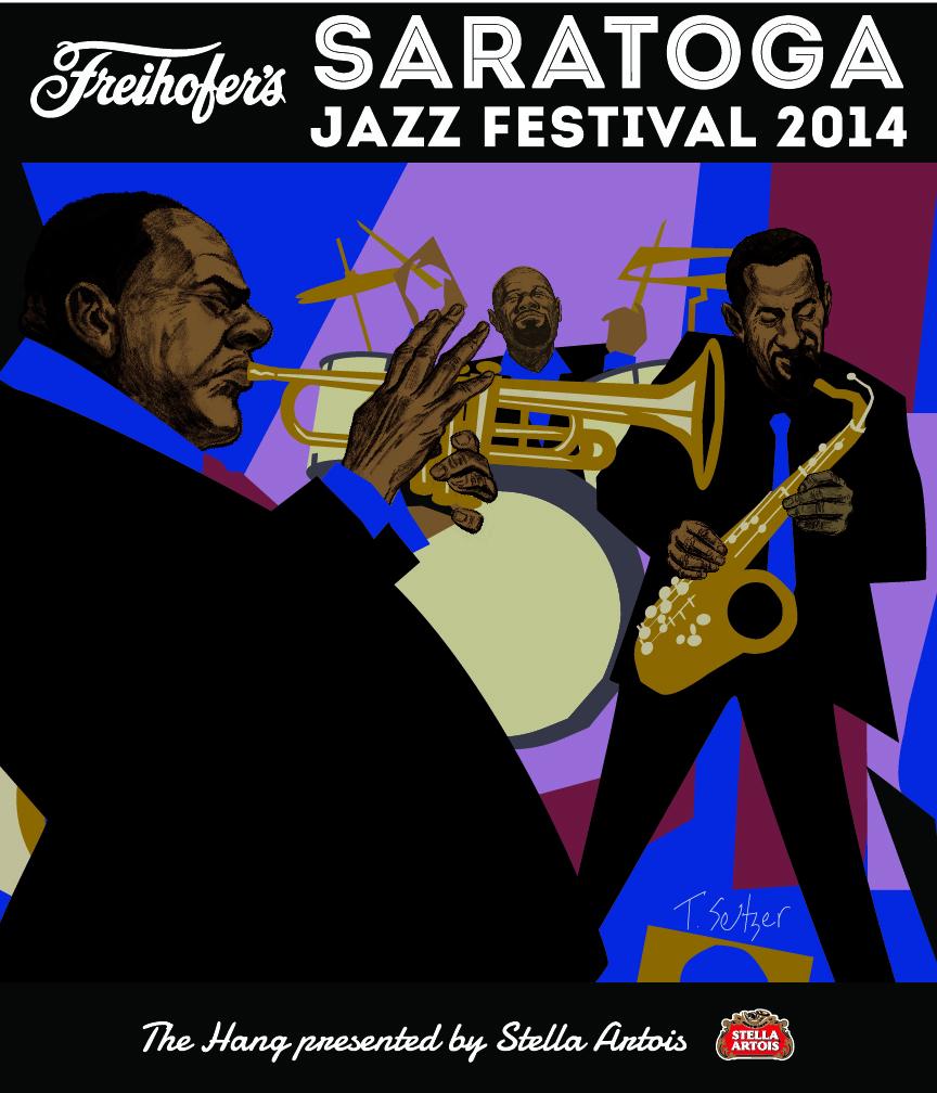 Saratoga Jazz Festival Front