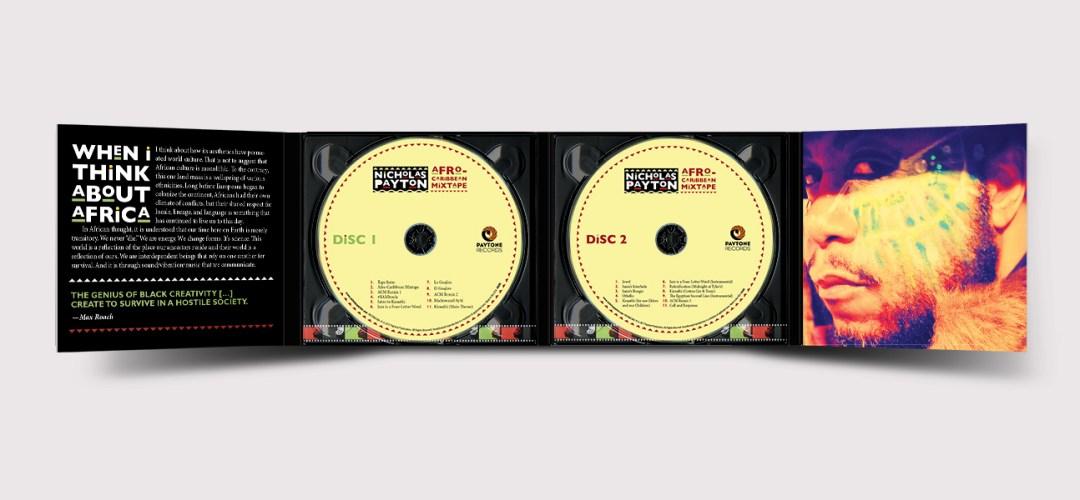 Nicholas Payton / Afro-Caribbean Mixtape Digipack Inside