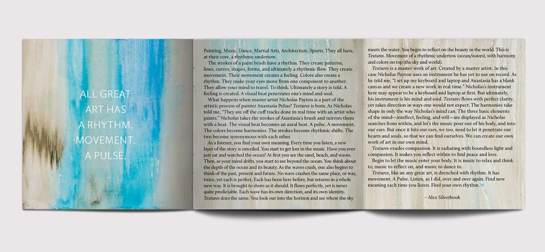 Nicholas Payton / Textures Foldout Inside