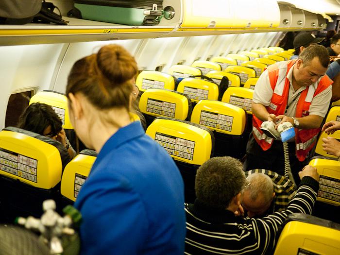 Muerte en Ryanair, una historia de horror Relato sobre lo acontecido en el vuelo FR1961