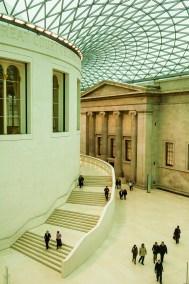 Luz en el museo