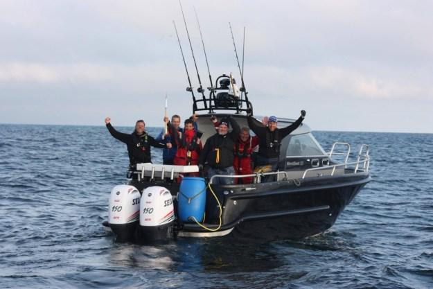 Vår återförsäljare Westboat var med i projektet som märkte tonfisk utanför Västkusten