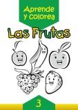 Las frutas: Aprende y colorea 3