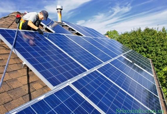Установить солнечне батареи своими руками
