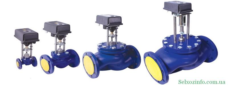 Применение регулирующего клапана с электроприводом