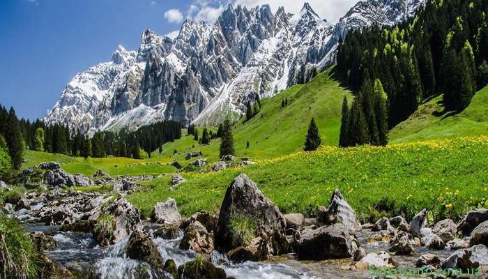 Отдых в горах Швейцарии