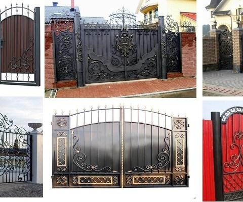 Замеры кованных ворот