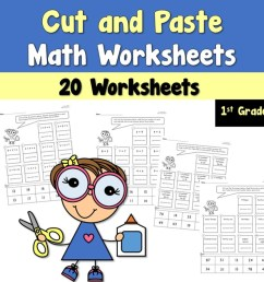 Cut and Paste Math Worksheets - Teacher's Take-Out [ 960 x 960 Pixel ]