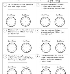 Time Worksheets to the Nearest 5 Minutes - Teacher's Take-Out [ 1320 x 1020 Pixel ]