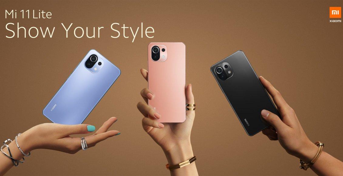 سعر ومواصفات هاتف شاومي مي 11 لايت 5 جي Xiaomi Mi 11 Lite 5G
