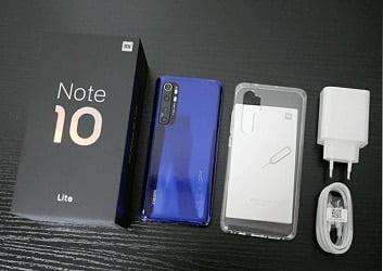 Xiaomi Redmi Note 10 فتح علبة