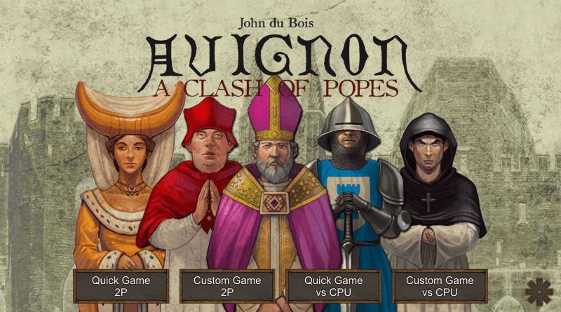 Avignon Menu