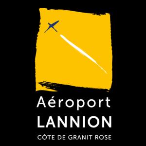 Logo Aéroport de Lannion - Côte de Granit Rose
