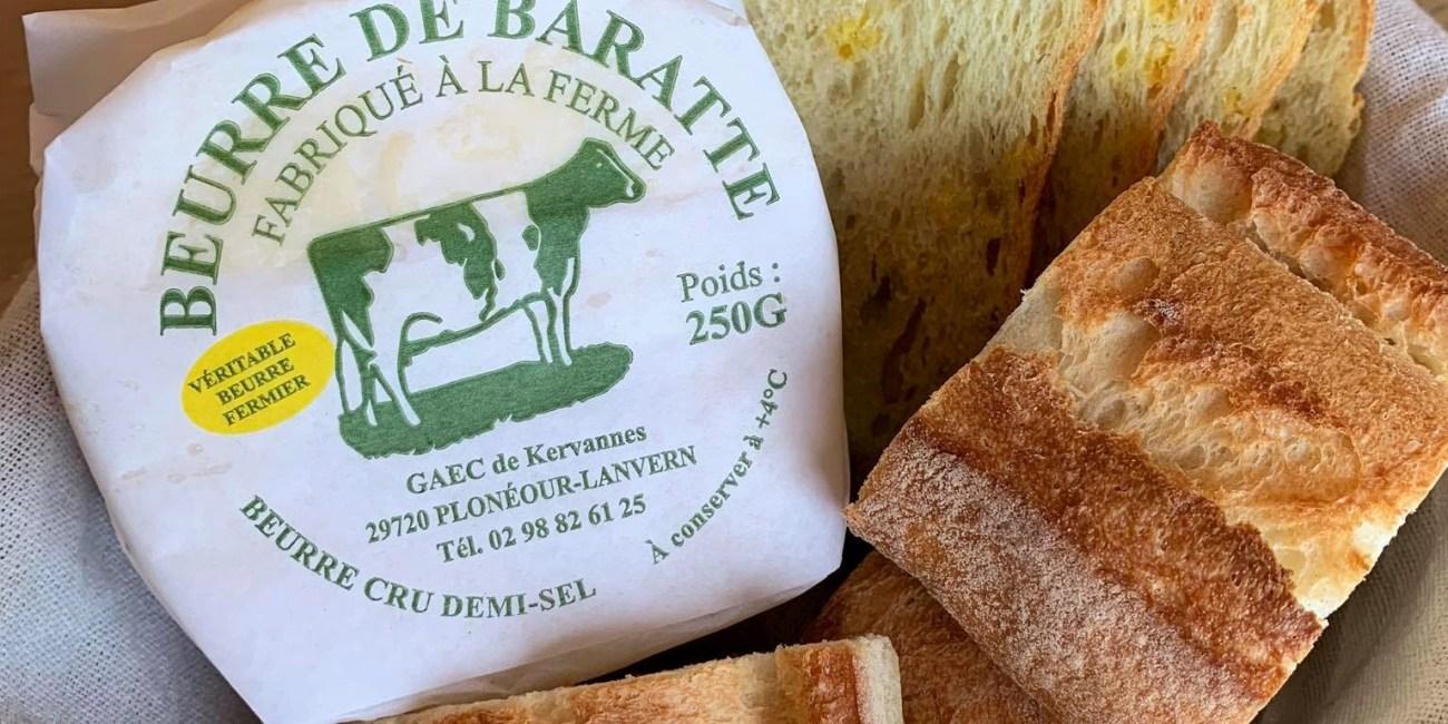 Beurre de baratte Kervannes - Margaux Hamel