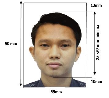 spesifikasi gambar passport malaysia