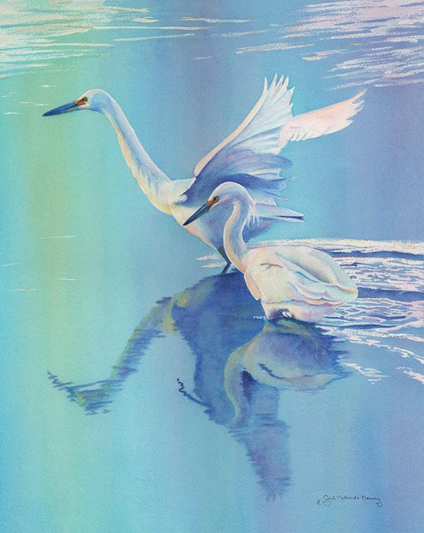 Dyad by Gail McBride Kenny - Semana Nautica Art Show