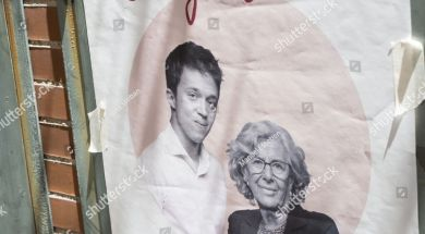stock-photo-madrid-spain-may-manuela-carmena-and-igo-errej-n-advertising-for-madrid-local-1398677894