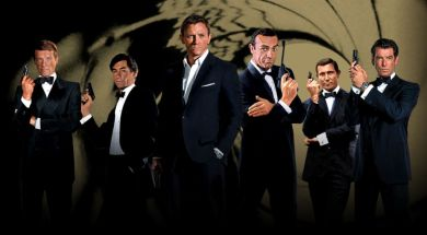 607) LOS SEIS ACTORES BOND
