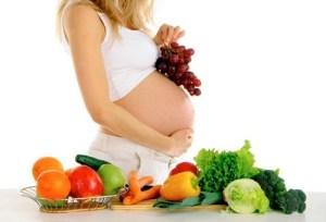 Alimentos para embarazada