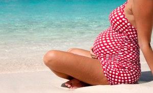 embarazada en verano