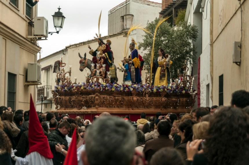 Entrada en Jerusalén de Linares