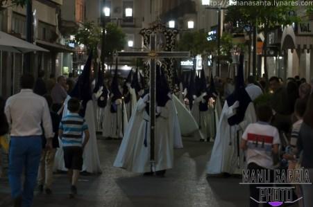 Cruz de Guía de la Columna. La Semana Santa de Linares 2015