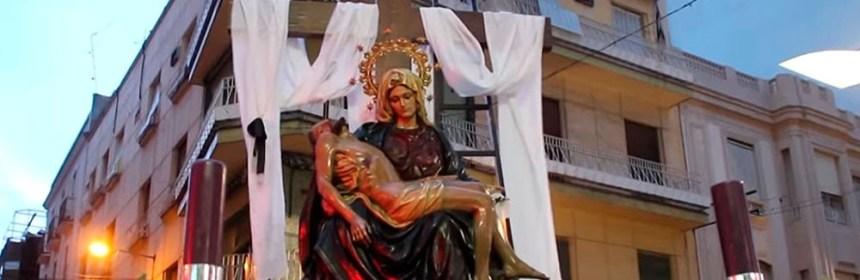 virgen angustias de linares viernes santo 2018