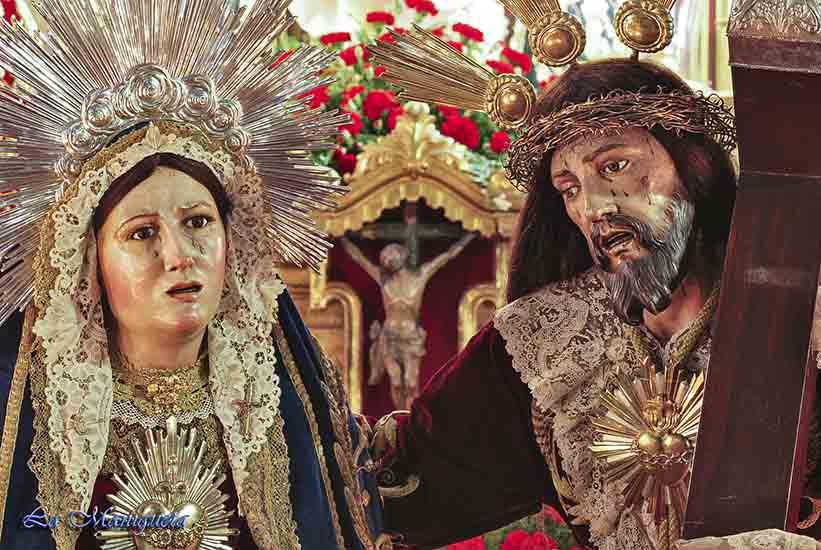 Titulares de la cofradía. Autor: Canal El Cirineo