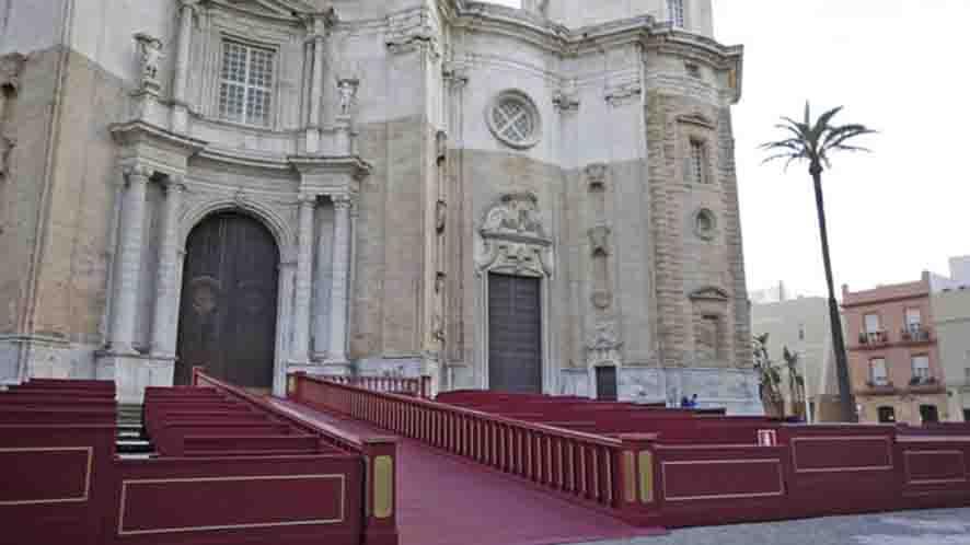Palcos en Catedral