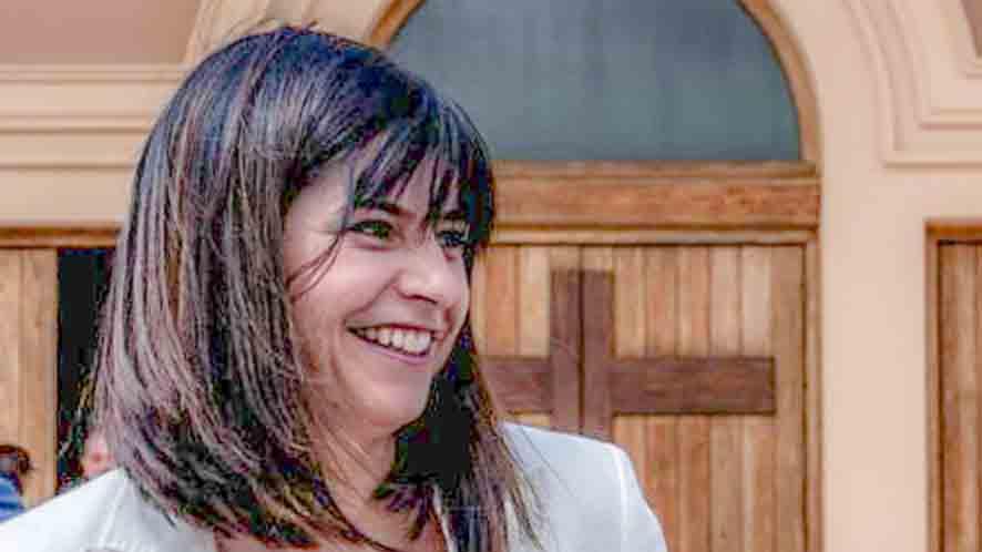 Ana Mendoza en una foto facilitada por la hermandad