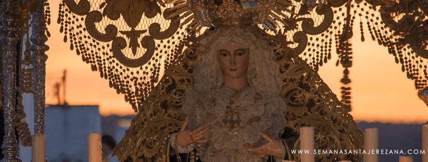 petalada virgen del rosario jerez de los caballeros catalinos