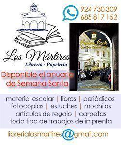 libreria los martires jerez de los caballeros papeleria semana santa semanasantajerezana.com