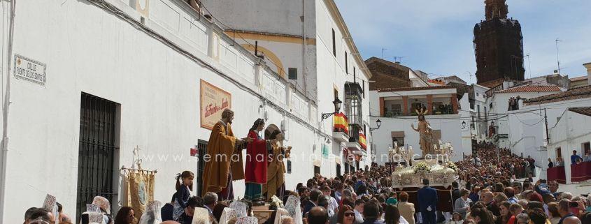 santo encuentro domingo de resurreccion semana santa jerez de los caballeros