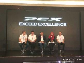 Launching Honda PCX 150 2018