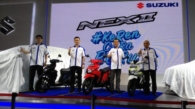 Suzuki NEX II 2018