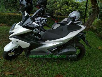 Review Harian Yamaha Aerox 155 VVA ABS