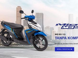 pilihan warna baru yamaha mio m3 125 2019