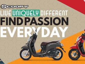 pilihan warna baru Honda scoopy 2019 esp