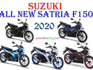 pilihan warna baru suzuki satria F150 2020