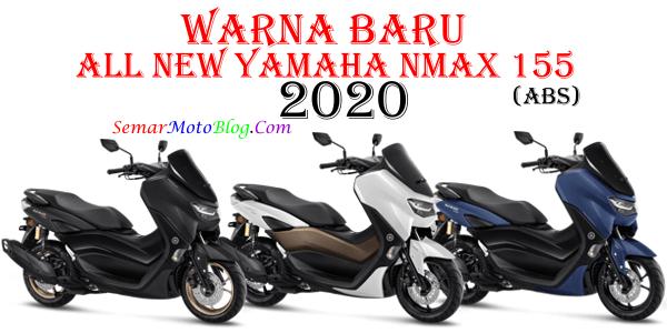 warna baru yamaha nmax 2020 abs