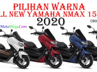 warna baru yamaha nmax 2020 non abs std