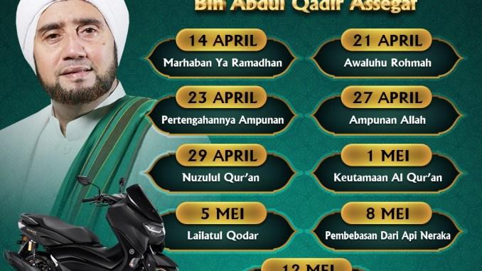 Tausiyah Ramadhan Bersama Habib Syech Bin Abdul Qadir Assegaf