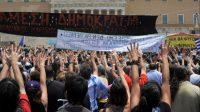Gerakan Menolak Vaksin Covid-19 di Yunani